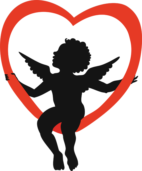 499x600 Cupid Clipart Valentine's Day