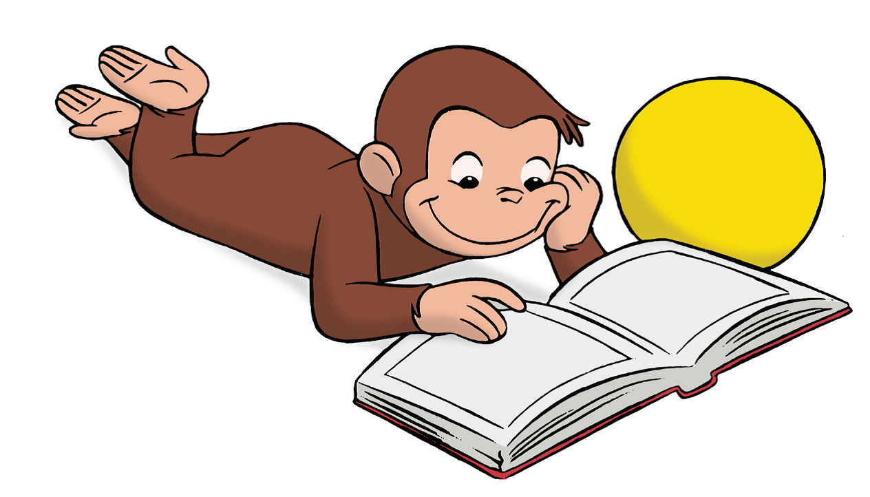 1264x722 Curious George Clipart