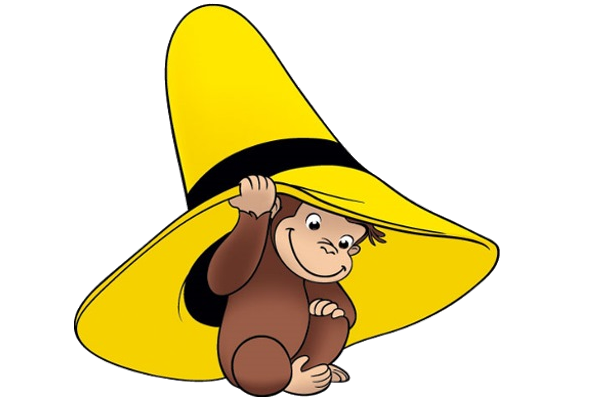 600x400 Free Curious George Clipart Image