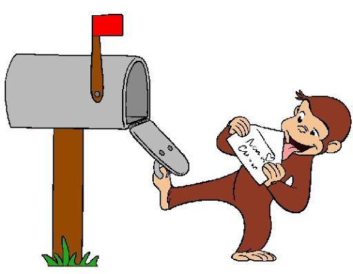 512x397 Free Curious George Clipart Image
