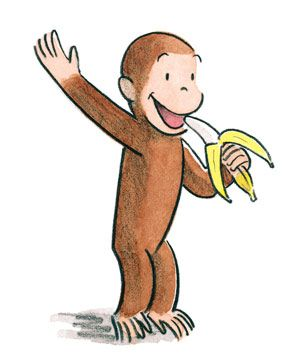 300x357 37 Best Curious George Images Awesome, Bananas