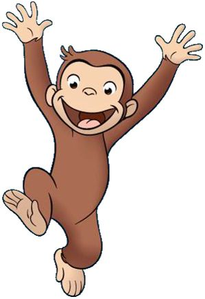 299x436 Classical Clipart Curious George