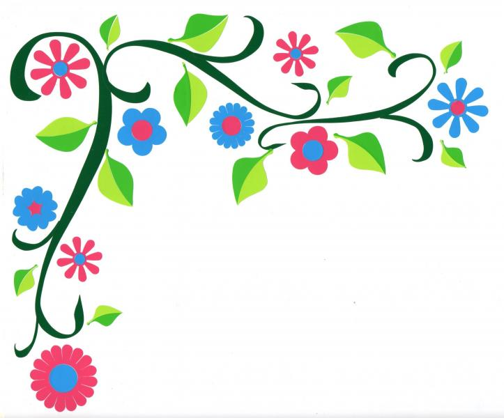 723x600 Curly Flower Vine Car Stickers Hippy Motors Car Stickers Vinyl