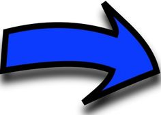 236x168 Curved Arrow Clip Art