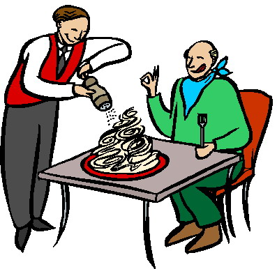 397x386 Restaurant Clipart Restaurant Customer