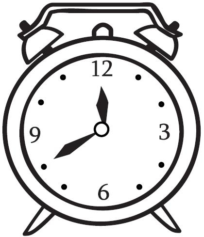 Cute Alarm Clock Clipart | Free download on ClipArtMag