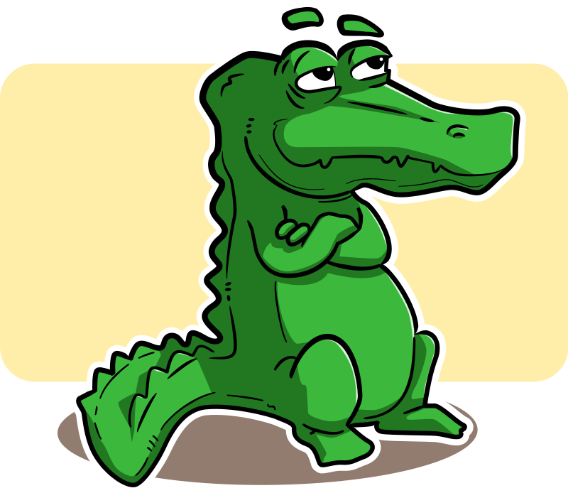 800x694 Cute Alligator Clipart Free Clipart Images