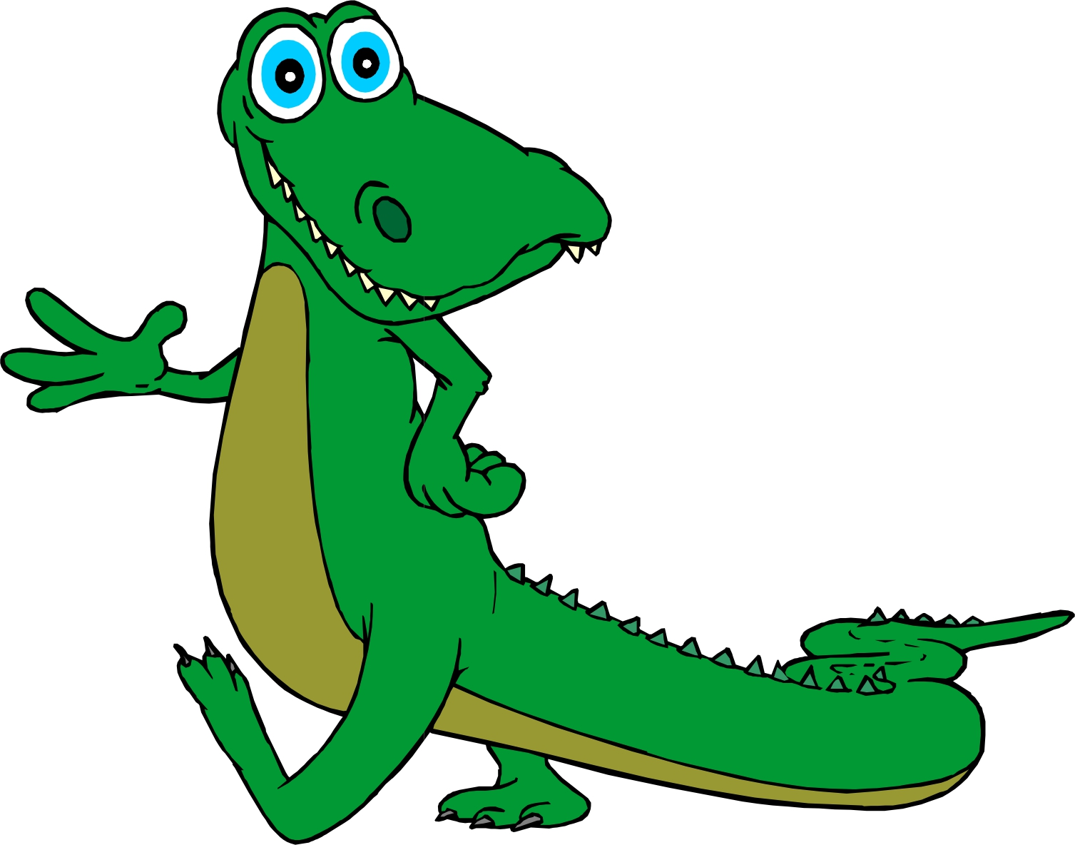 1507x1184 Cute Alligator Clipart Free Images