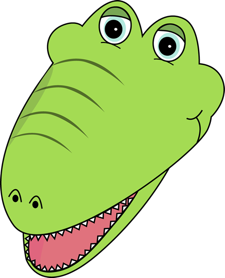 445x550 Crocodile Clipart Face