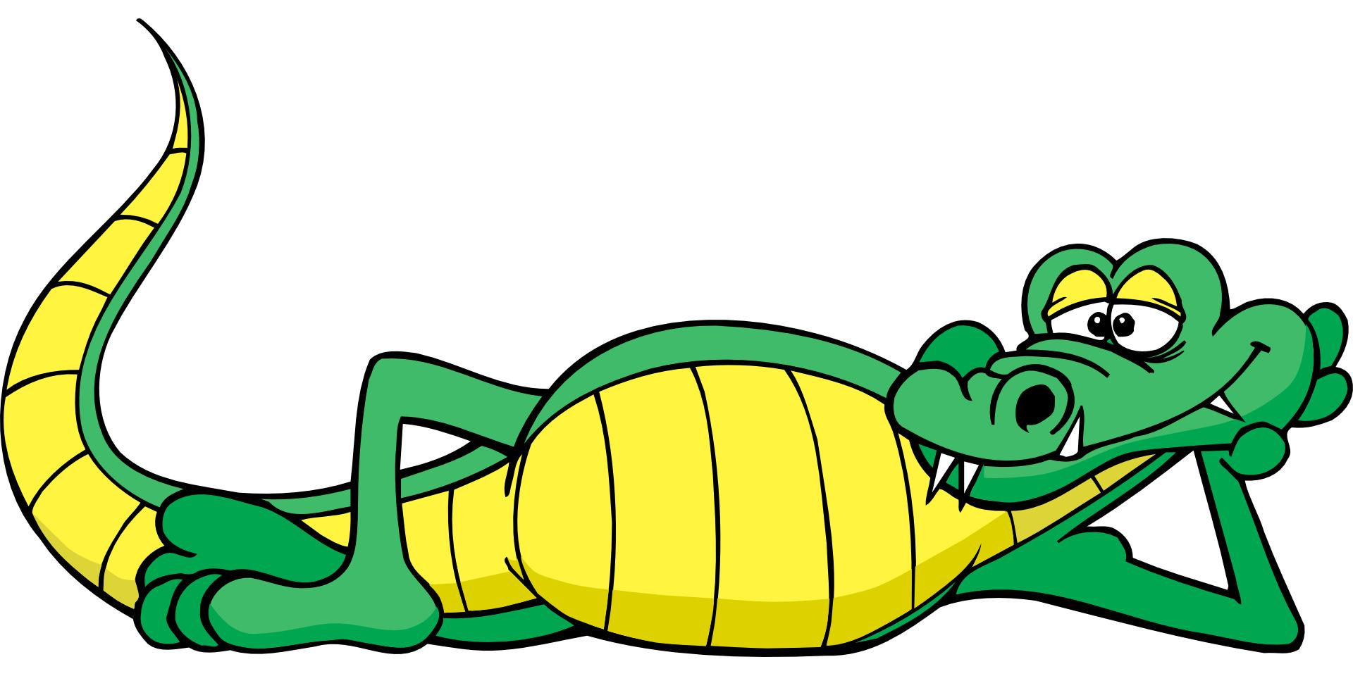 1920x960 Cartoon Alligator