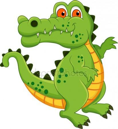 412x450 Cute Alligator Pictures