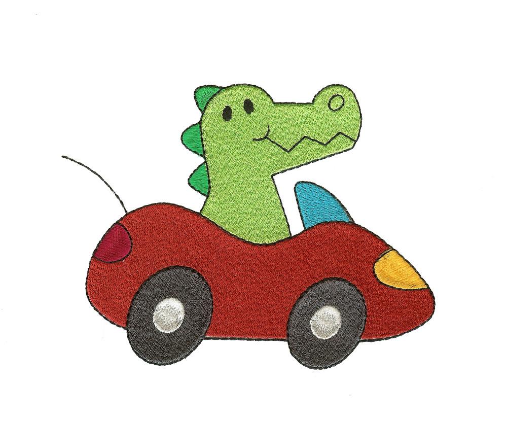1000x830 Cute Alligator In Car Filled
