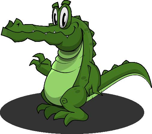 507x445 Free Alligator Clipart