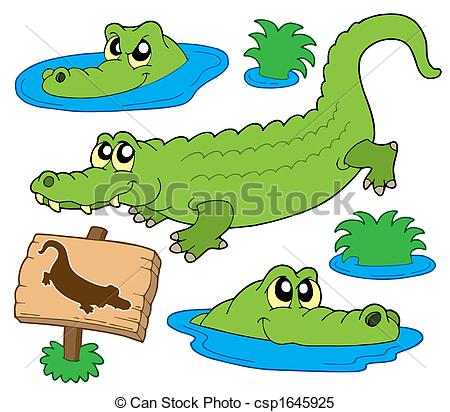 450x412 Alligator Clipart Water Drawing