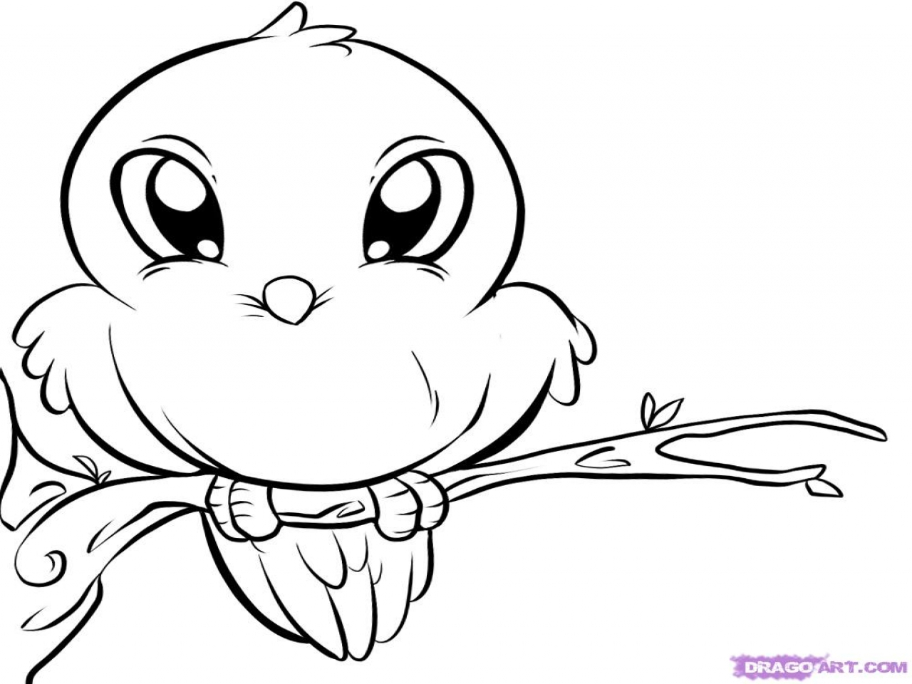 1280x960 Cute Baby Animals To Draw Step By Step Cute Animal Drawings Free