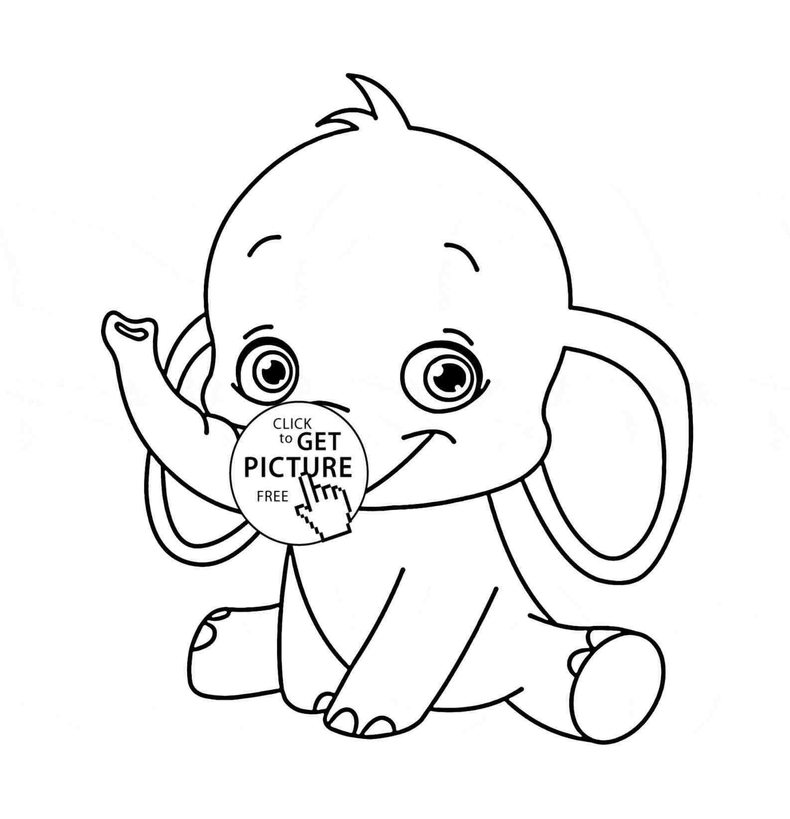 1586x1643 Cute Animal Drawings In Color