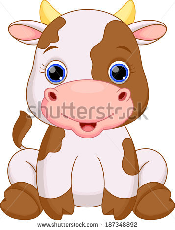 357x470 Cute Baby Cow Cartoon Clipart Baby Cows, Cow