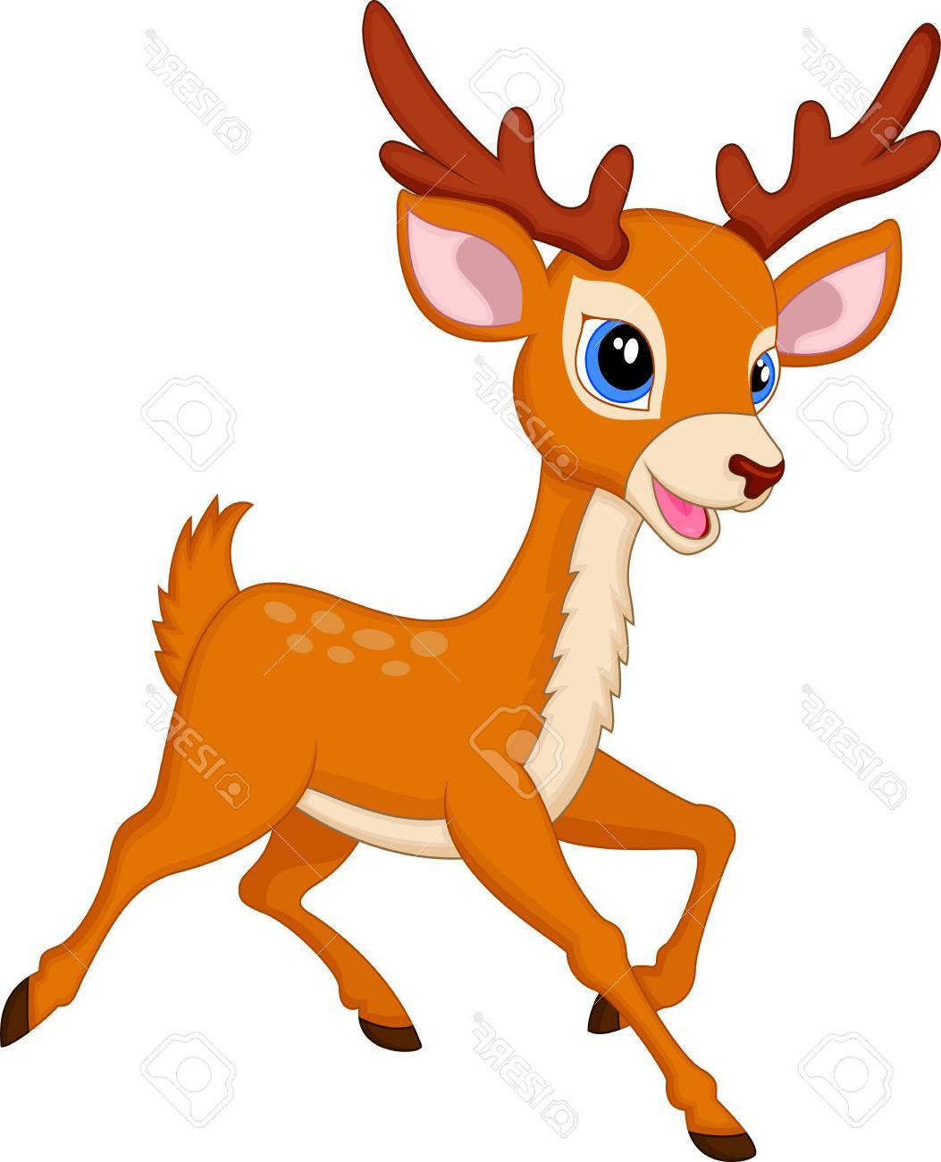 Deer head cute. Baby clipart free download