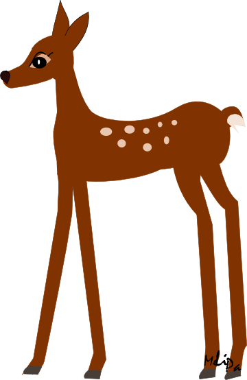 360x554 Baby Deer Clipart Free Images