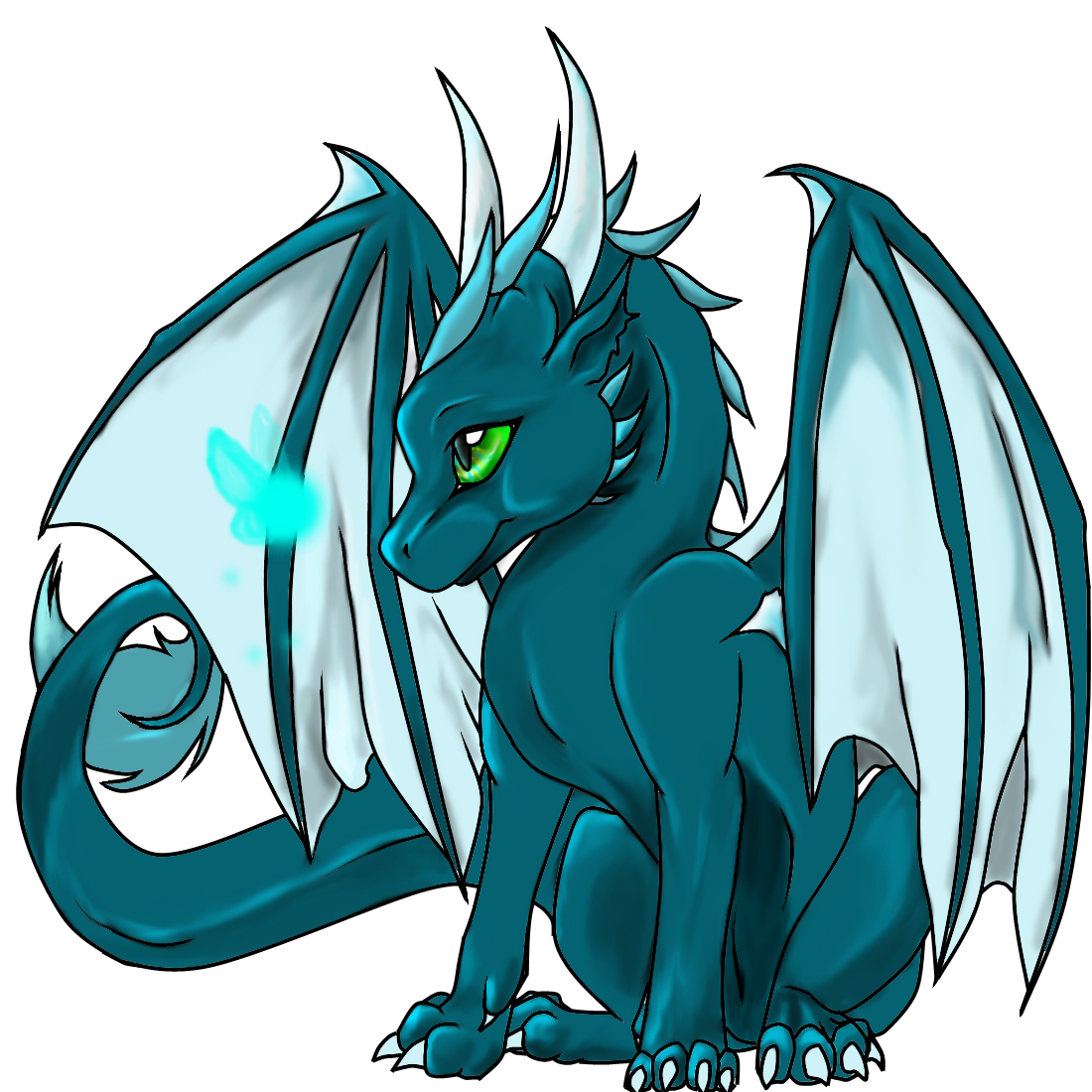 cute baby dragon clipart free download best cute baby dragon