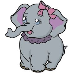 236x236 Cute Baby Elephant Cute Cartoon Clip Art Images. All Images Are