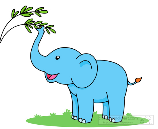 550x448 Free Elephant Clipart