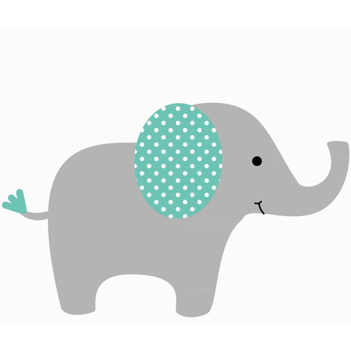 1125x1125 Simple Elephant Clipart
