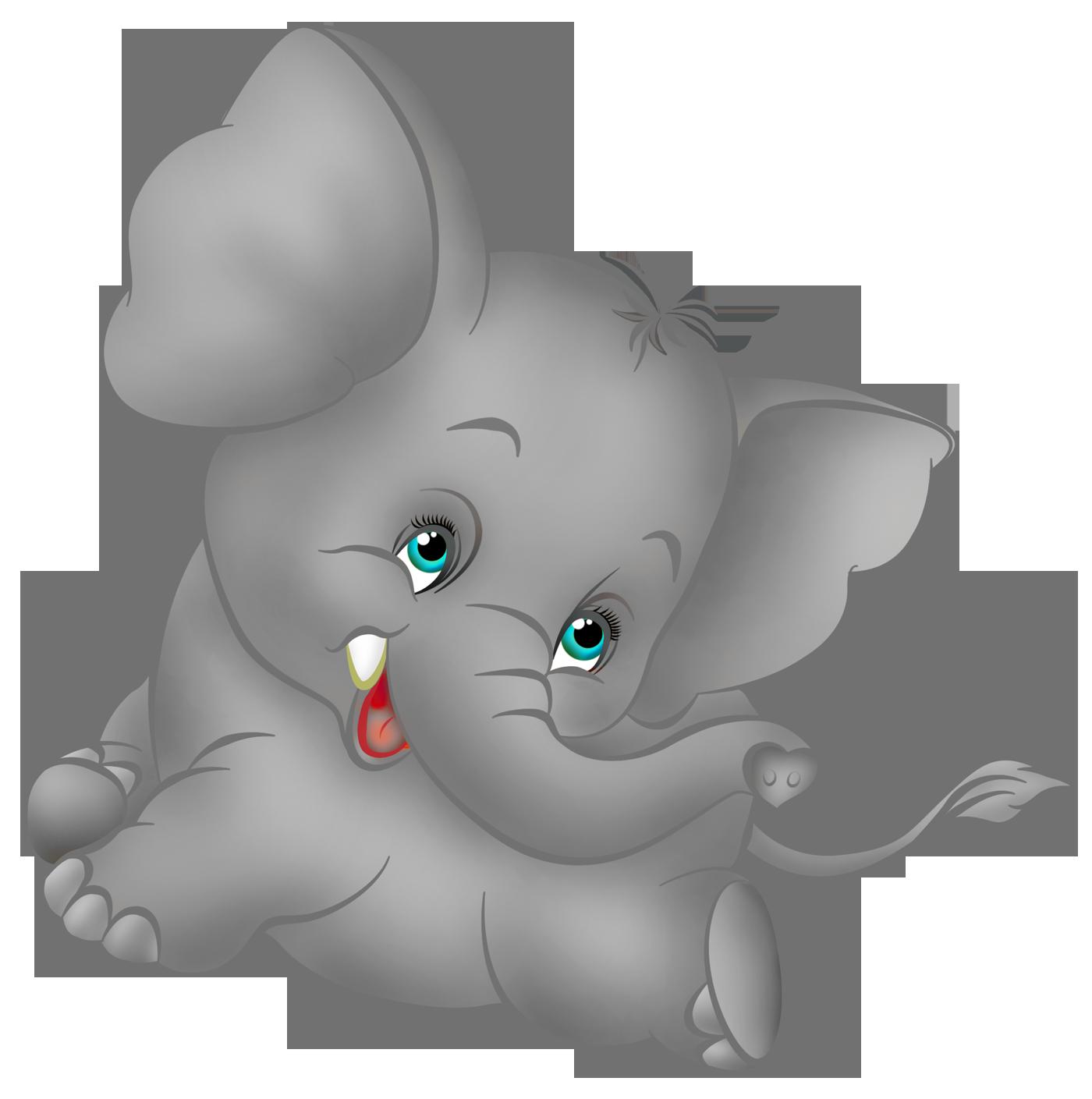 1400x1409 Cute Baby Elephants Clipart