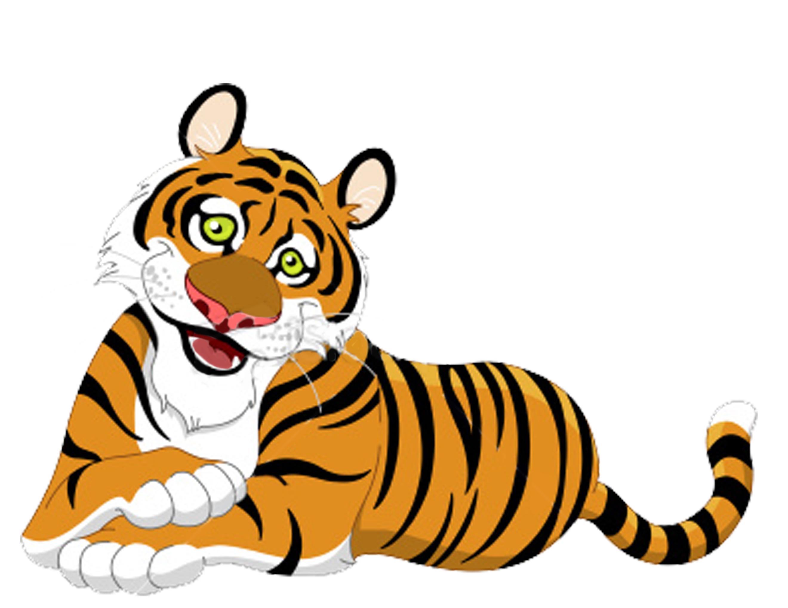 2640x2040 Bengal Clipart Cute Tiger