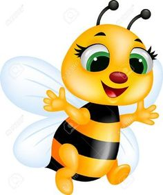 Cute Bumble Bee Clipart
