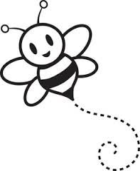 197x240 Bee Outline Tattoo Cool Bee Black Outline Logo Bee Outline
