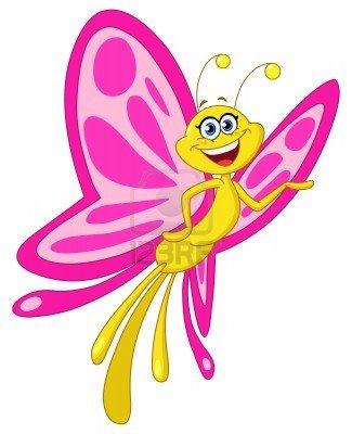 Cute Butterfly Clipart