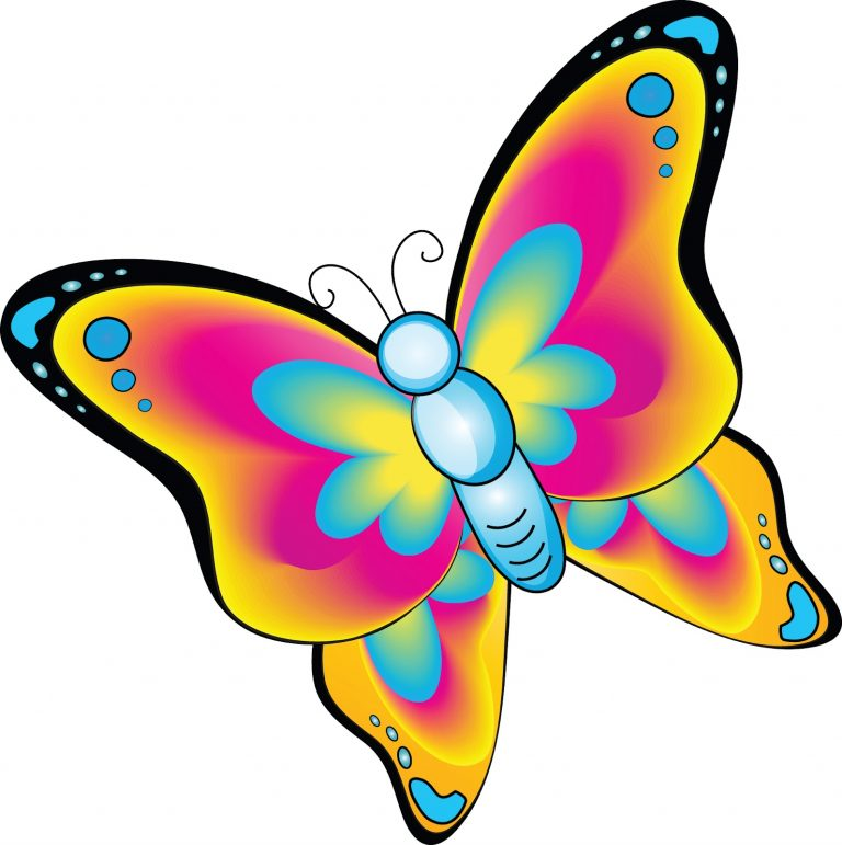 768x771 Cute Butterfly Clipart Png. Butterfly Clip Art Butterfly Clipart 2