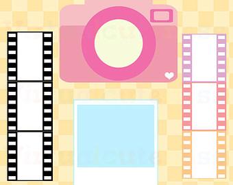 340x270 Camera Clipart Pastel