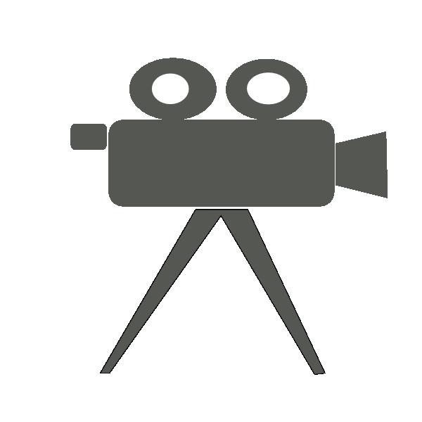 600x600 Clip Art Movie Camera And Film Clipart