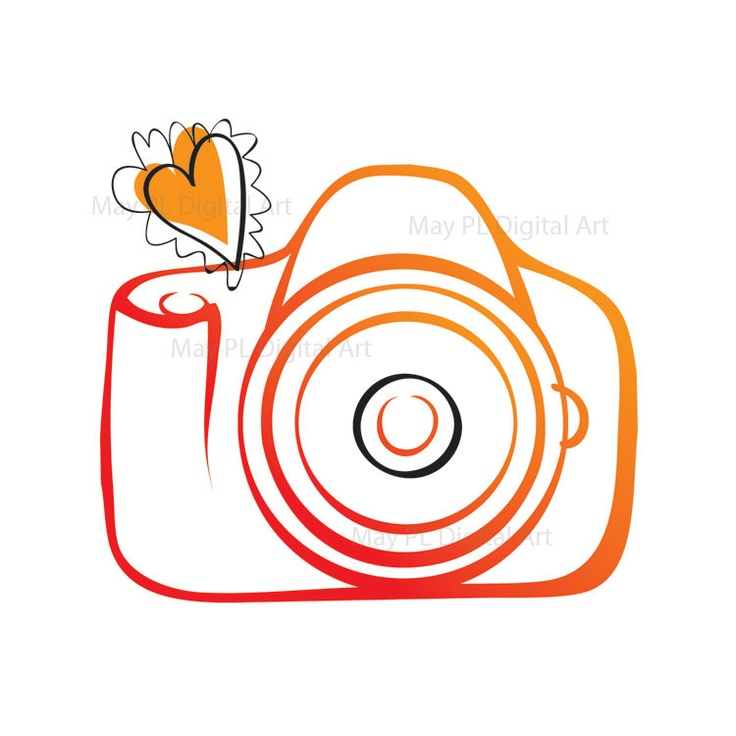 736x736 Free Cute Camera Clipart Image