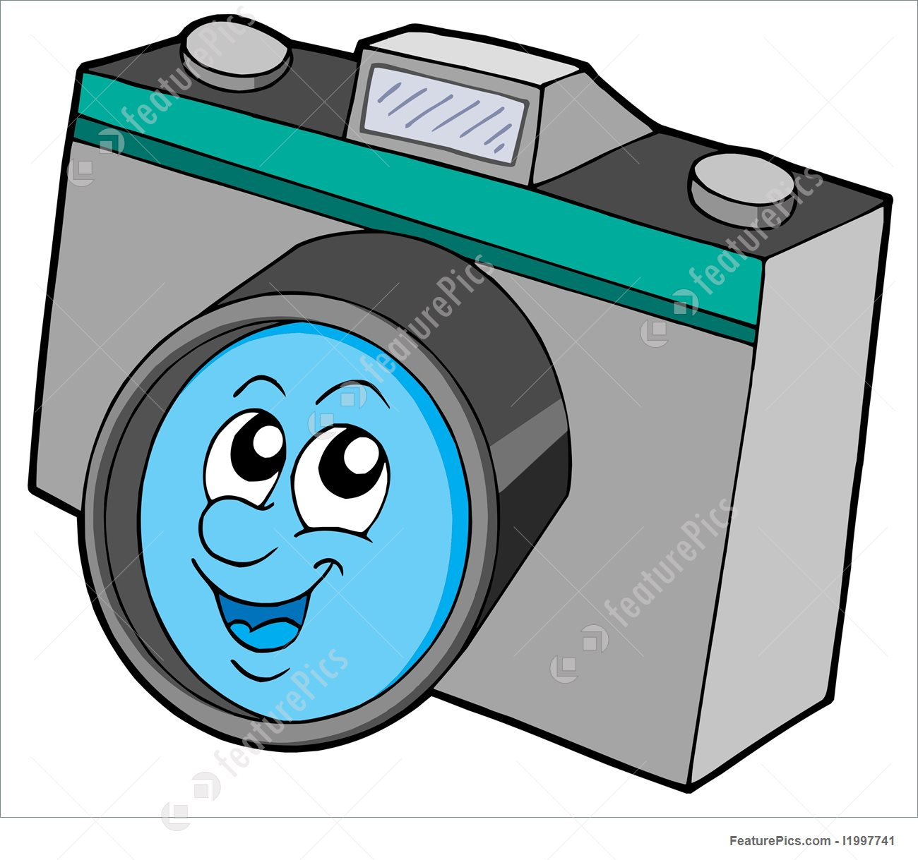 1300x1219 Illustration Of Cute Camera