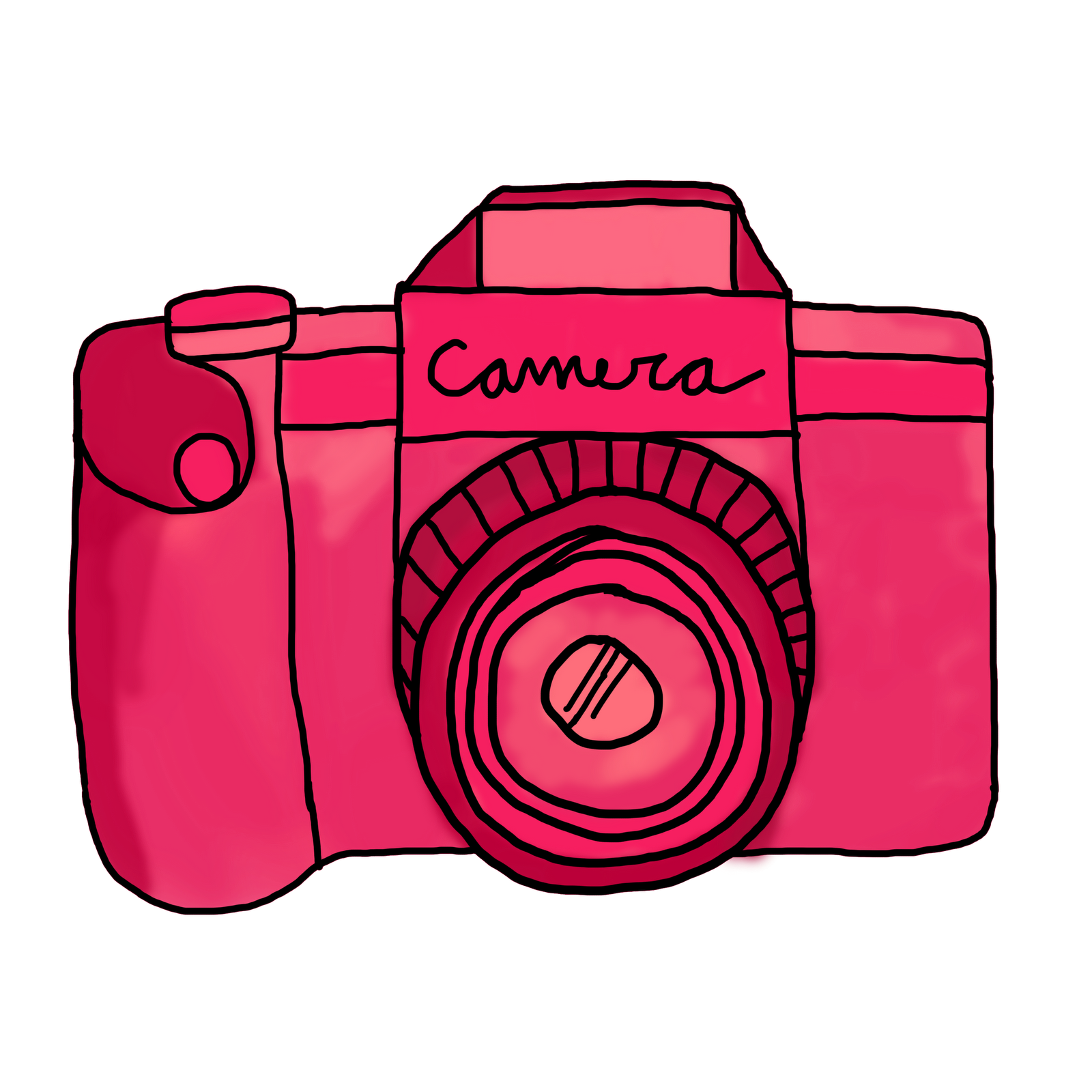 1600x1600 Image Of Cute Camera Clipart