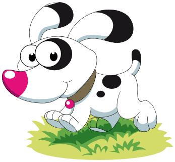 347x321 Beautiful Cute Dog Clipart Dog Running Cute Animals Dogs Cartoon