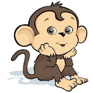 Cute Cartoon Monkey Images