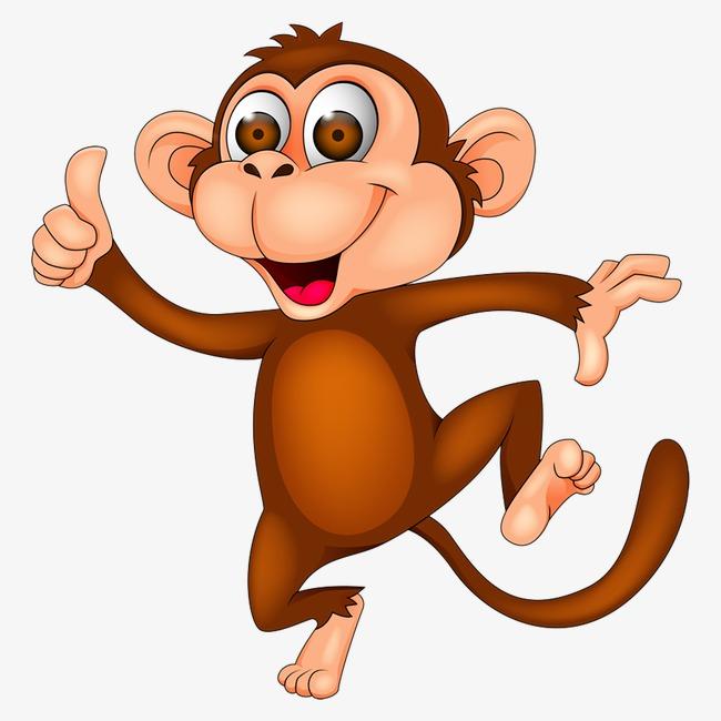 650x650 Cartoon Monkey, Cartoon, Monkey, Animal Png Image For Free Download