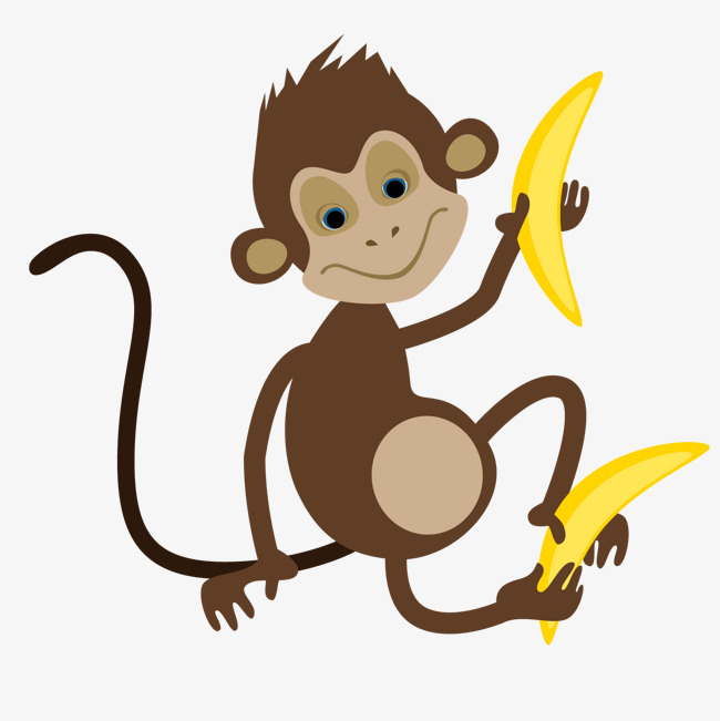 650x651 Cartoon Take A Banana Monkey Vector, Cartoon Monkey, Cartoon