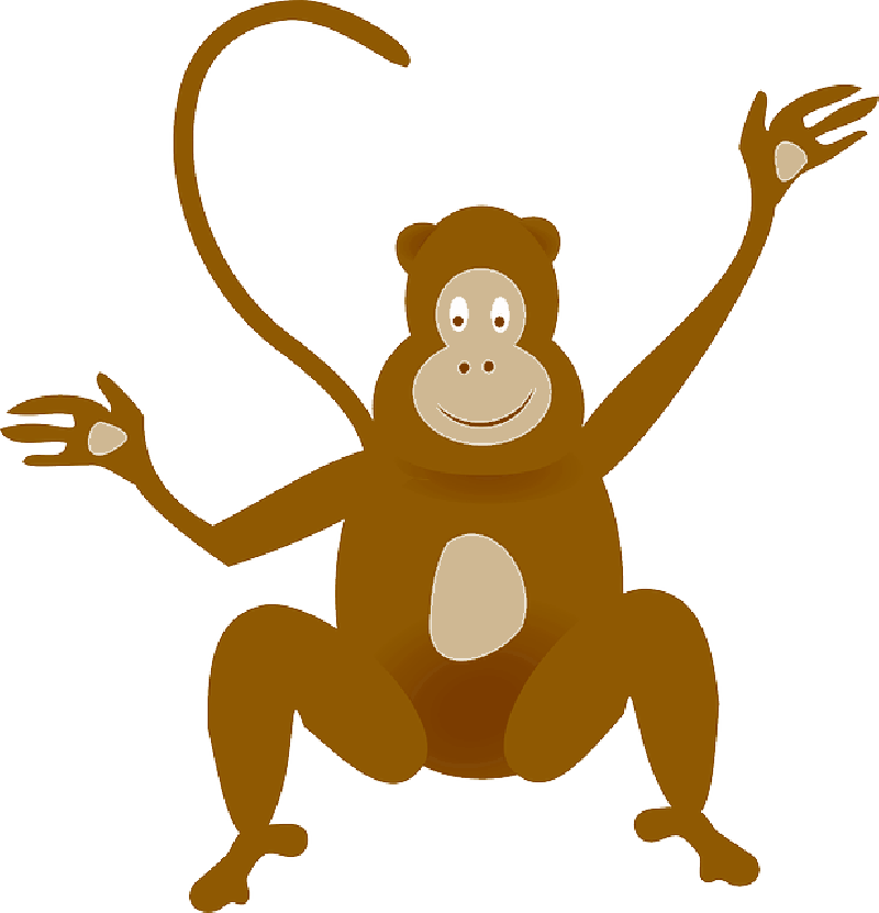 800x831 Cute Cartoon Pictures Of Baby Monkeys Best Wallpaper Reference