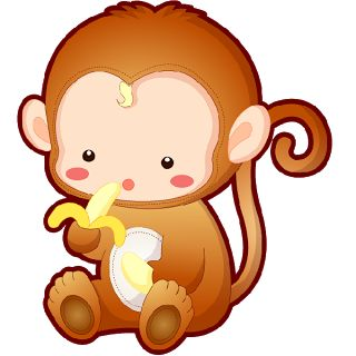 320x320 Year Of The Monkey Clipart Cute Anime