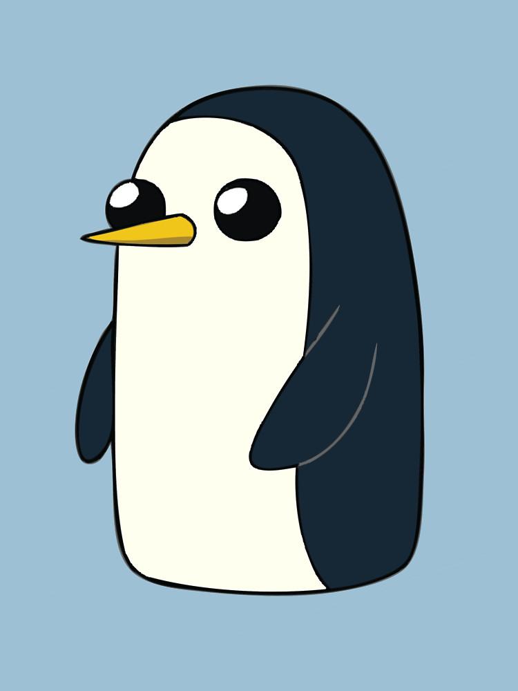 314605bcb 750x1000 Cute Animated Penguin Unisex T Shirt By Tacovisuals Redbubble