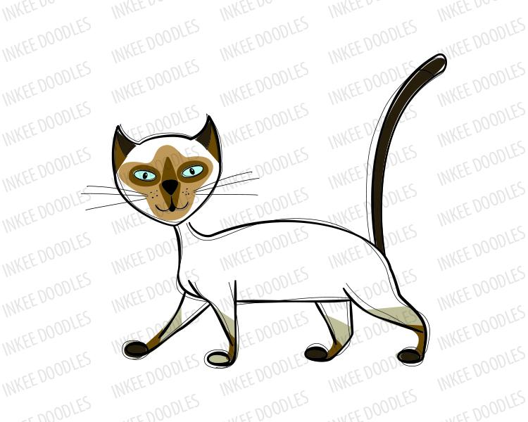 750x600 Cats Clip Art