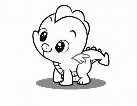 530x409 Exquisite Decoration Baby Animal Coloring Pages Cute Of Animals
