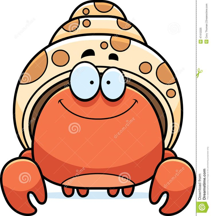 Cute Crab Clipart