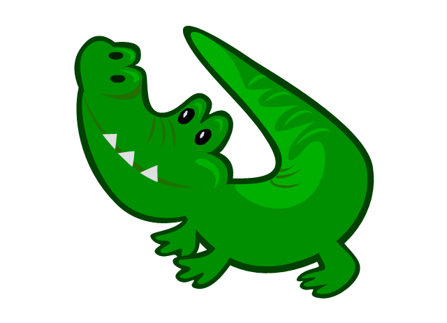 640x463 Crocodile Clipart Chemical Solution