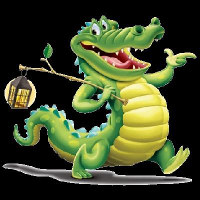 400x400 Crocodile Clipart Funny